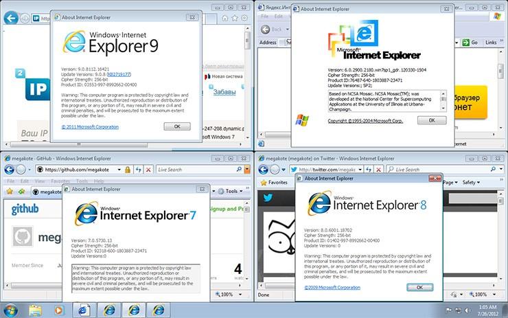 Скачать Internet Explorer Portable